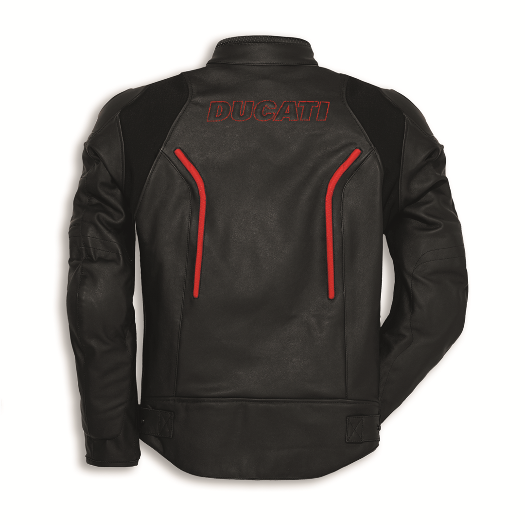 ducati lederjacke stealth c2 herren heinrichmeyer online. Black Bedroom Furniture Sets. Home Design Ideas